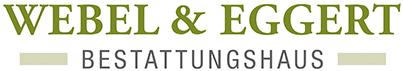 Bestattungshaus Webel & Eggert Logo